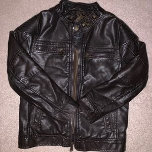 Urban Republic Little Boy's Classic Leather Jacket